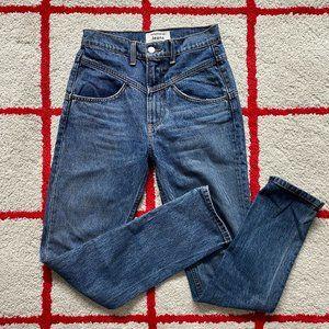 Reformation High-Rise Yoke Front Denim Jeans